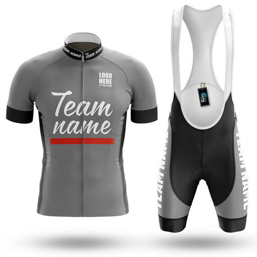 Custom Team Name V1 - Men's Cycling Kit