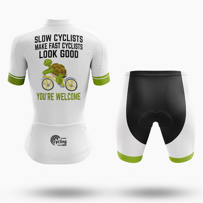 Slow Cyclist - Women's  Cycling Kit