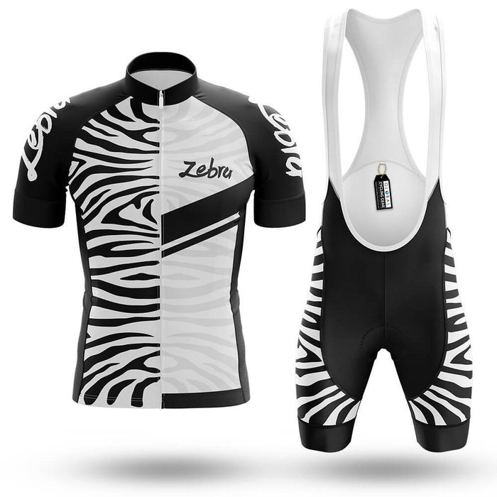 It S Zebra Time Men S Cycling Kit Bike Jersey And Bib Shorts Global Cycling Gear
