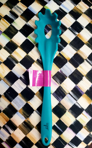 Silicone Pasta Server - Teal