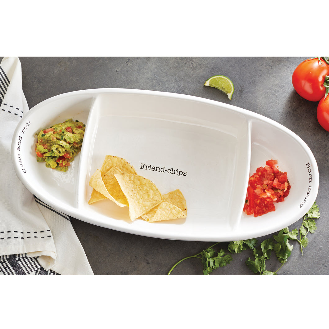 Fiesta Chip & Dip Serving Set