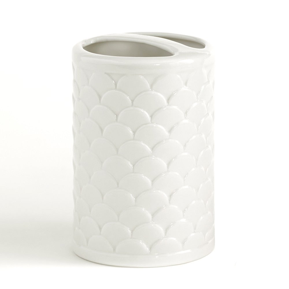 Scala White Bathroom Toothbrush Holder