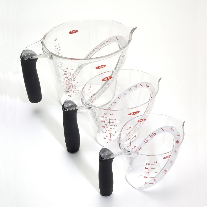Oxo 3 Piece Angled Measuring Cup Set