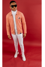 Load image into Gallery viewer, Pink Suede jacket