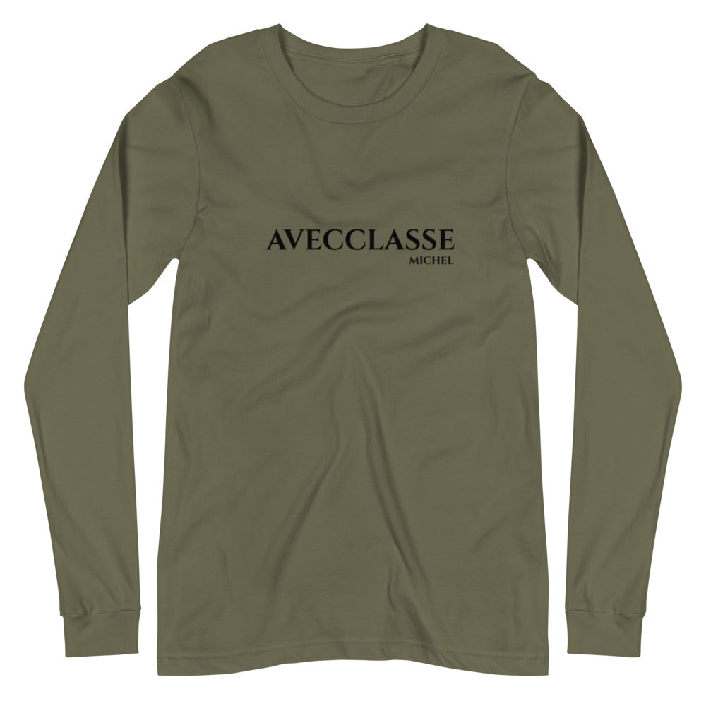 Avecclasse Michel Unisex Long Sleeve Tee