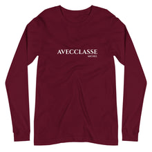 Load image into Gallery viewer, Avecclasse Michel Unisex Long Sleeve Tee