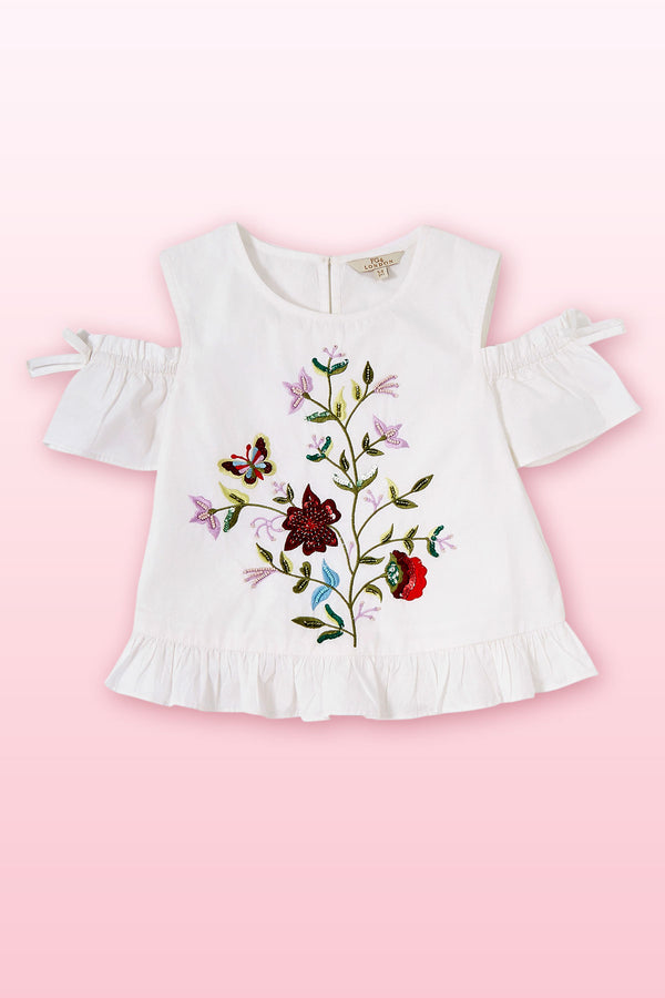 Butterfly Sparrow Top