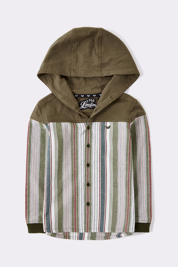 Kit Hooded Shirt