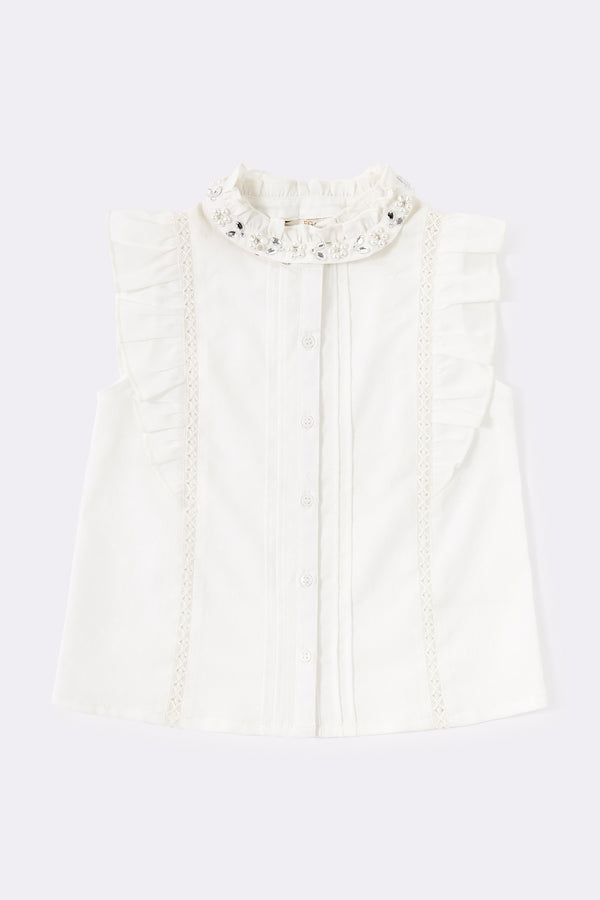 Quinley Blouse White
