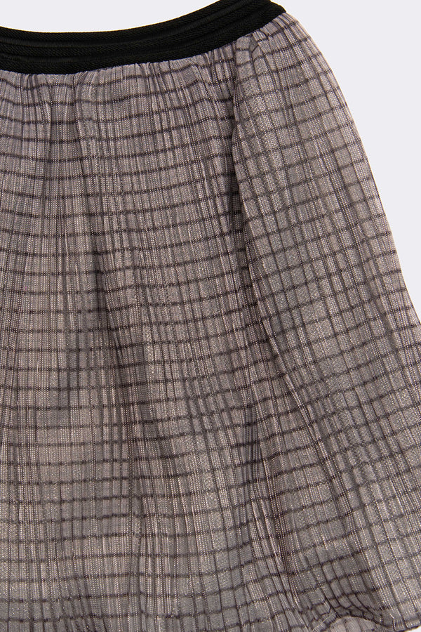 Freida Check Skirt