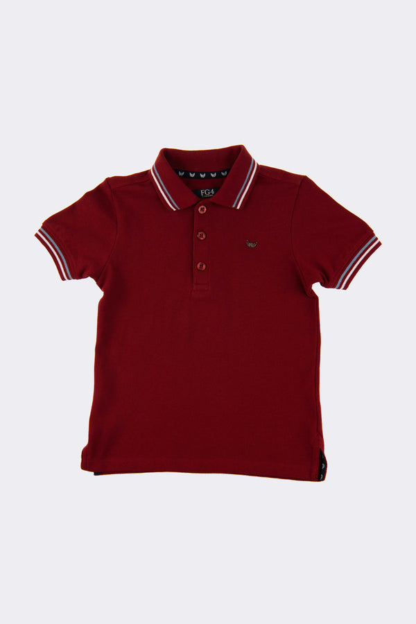 Bertie Polo Red