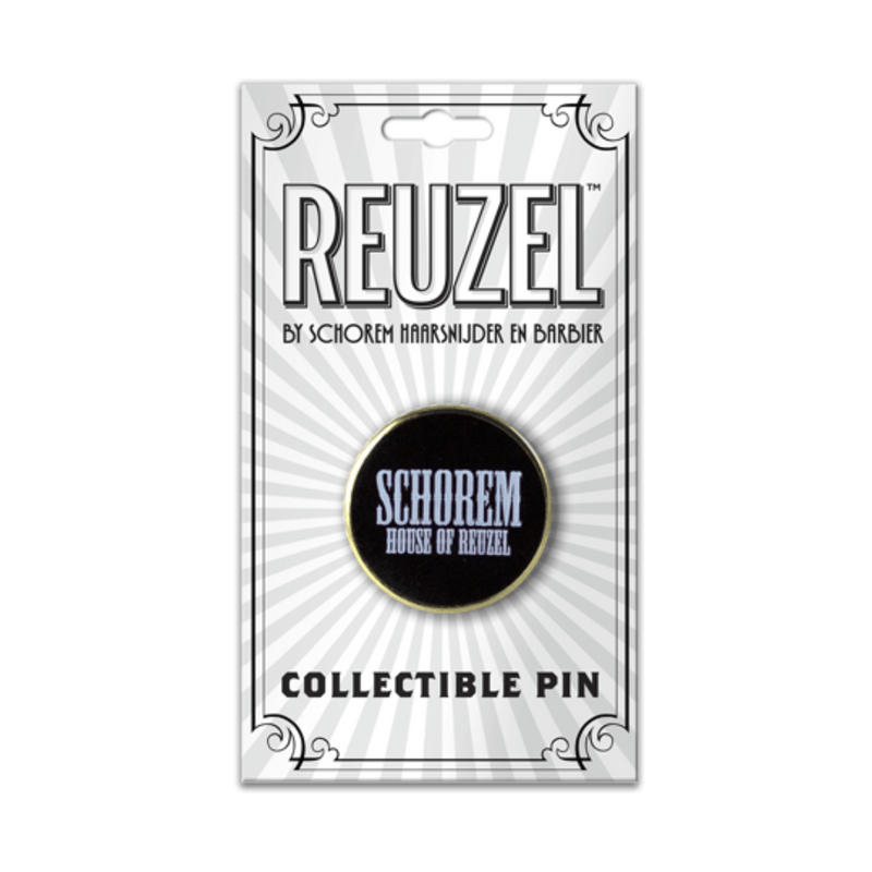 Reuzel Collectible Pin: House Of Reuzel (Black)