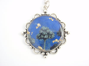 """Tree of Life"" - pendant from Art Reframed series inspired by Giotto's fresco in Cappella degli Scrovegni"