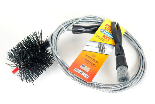 3 inch Pellet Stove Brush Kit