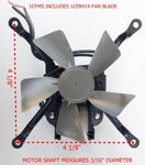 1/50 HP C Frame with Blade and Bracket Axial Fan