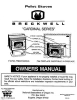 Breckwell P24 1995 Owner's Manual
