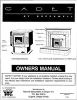 Breckwell P26 - P32 1995 Owner's Manual