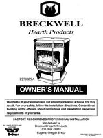 Breckwell P2007 1999 Owner's Manual