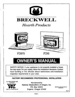 Breckwell P28 1997 Owner's Manual