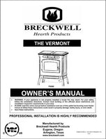 Breckwell P4000 2005 Owner's Manual