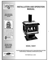 Earth Stove 1500HT Owner's Manual