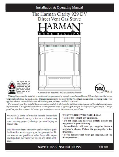 Harman Clarity 929 DV Owner's Manual