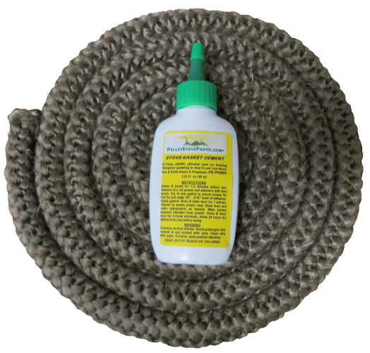 Door Rope Gasket 3/4 in x 7 ft With Adhesive