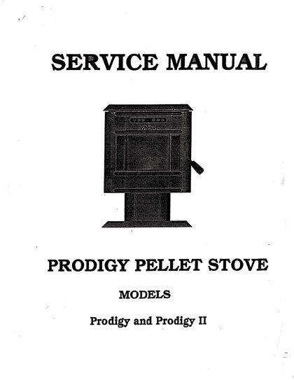 Whitfield Prodigy I and II Service Manual