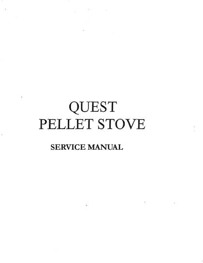 Whitfield Quest Service Manual