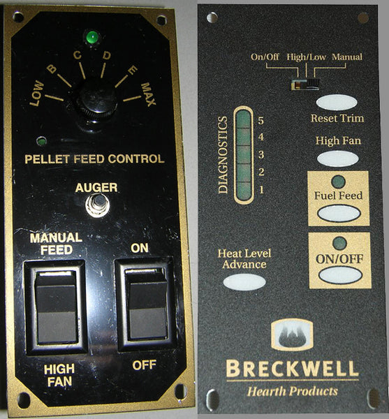 Breckwell Control Panel with Wiring Harness