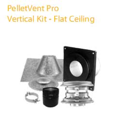 4 in Vertical Kit For Flat Ceilings