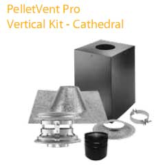 4 in Vertical Kit For Cathedral Ceilings