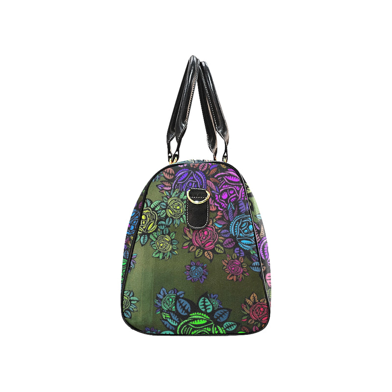 Bloomin by Art Manifested Large Waterproof Travel Bag