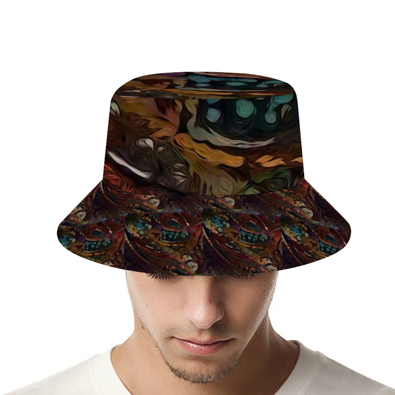 Mud Marble Customized Bucket Hat