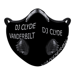 DJ Clyde Vanderbilt Customized Face Cover