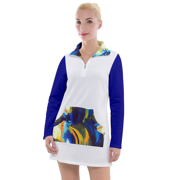 Blu Wave Women's Long Sleeve Casual Dress