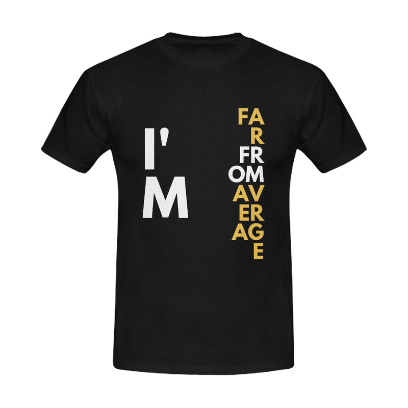 Far From Average Men's T-Shirt (Motiv8Me Collection)