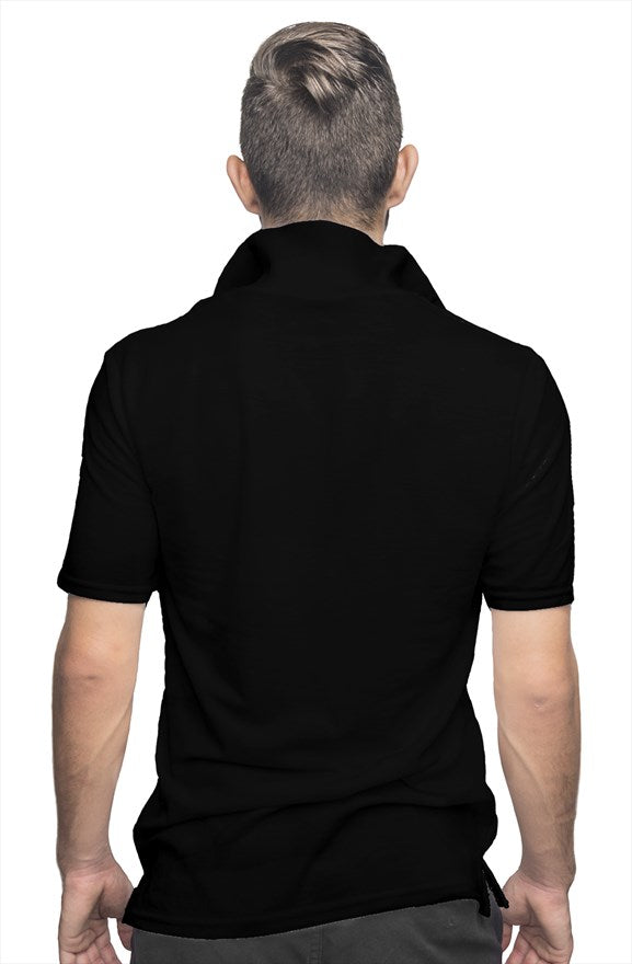Network Z Black Polo