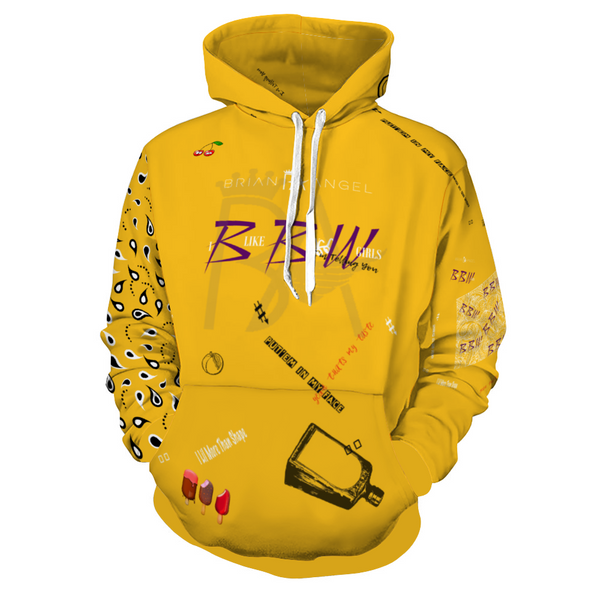 Brian Angel BBW Hoodie Hooded Sweatshirt with Pockets