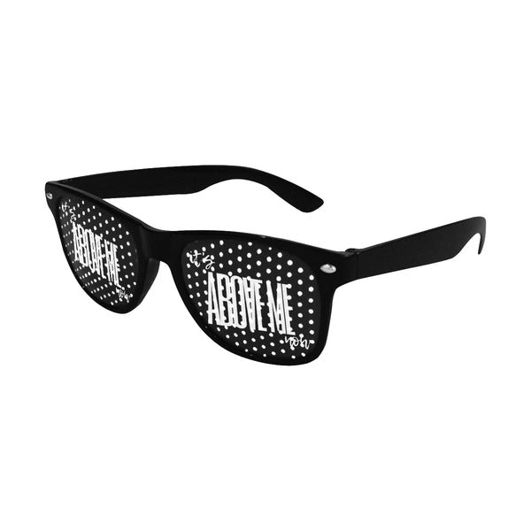 """IT'S ABOVE ME NOW"" Custom Goggles (Perforated Lenses) - ENE TRENDS"