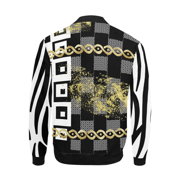 Punteggiato II Black Edition Bomber Jacket for Men