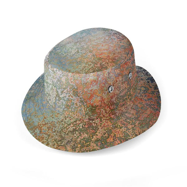 Distinguished Traveler Reversible 2 in 1 Bucket Hat