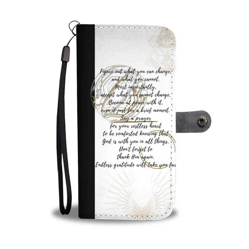 Note To Self Custom Designer Wallet Phone Case