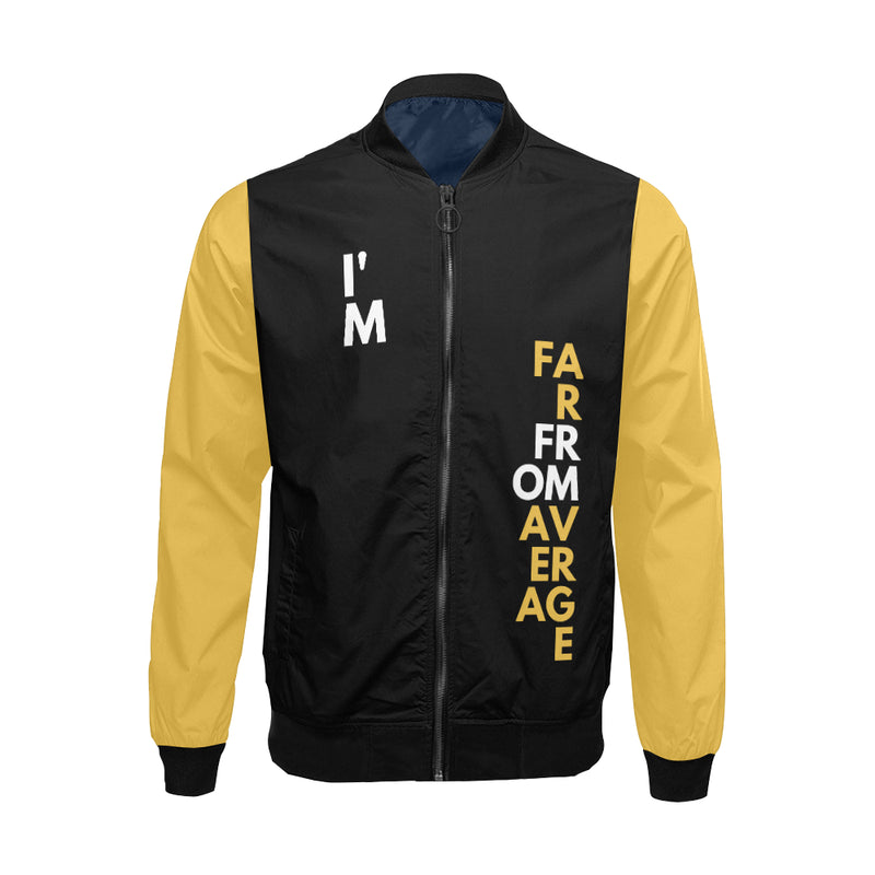 Far From Average Men's Bomber Jacket