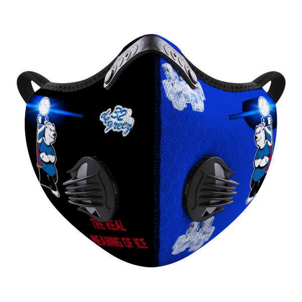 32 Degreez Barber and Beauty Customized Face Mouth Mask