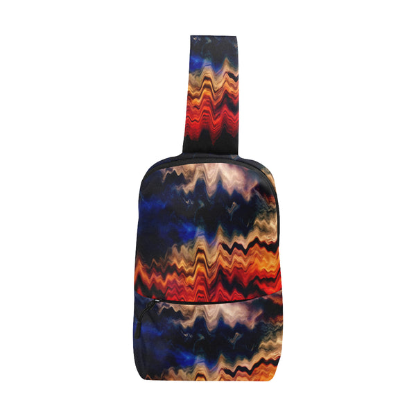 Melted Sunset Chest Bag