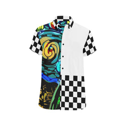 Gocciolare Men's Short Sleeve Shirt 'Cut & Sew Made to order' - ENE TRENDS