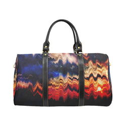 Melted Sunset New Waterproof Travel Bag/Small (Model 1639) - ENE TRENDS