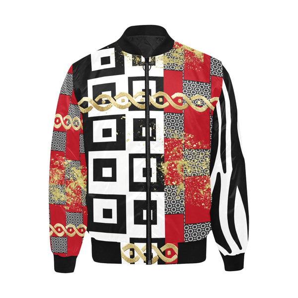 punteggiato premium bomber jacket luxury styled jacket_ gold_white_black_ Versace look_ LV _ Luis Vuitton _ Red_ Gucci