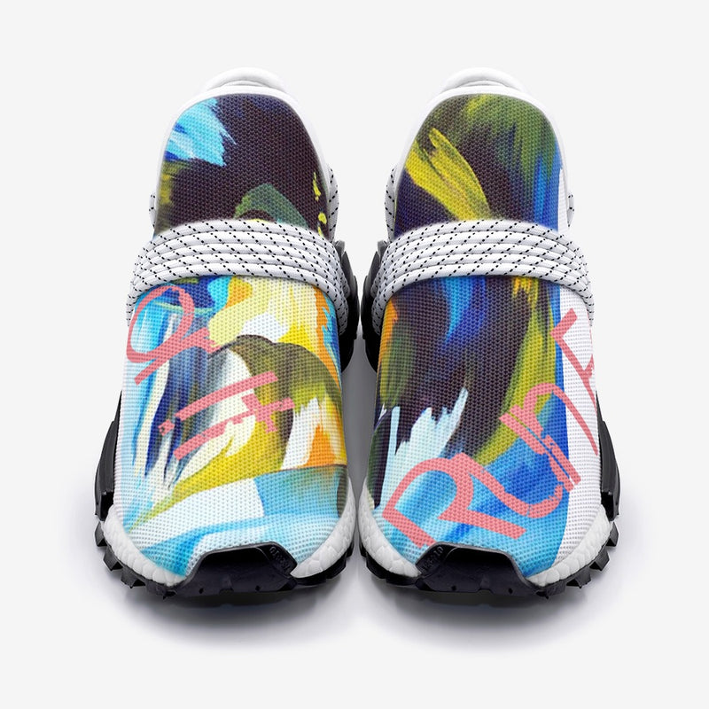 Run For It Unisex Lightweight Sneaker S-1 By Art Manifested
